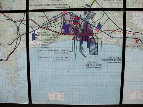 라용 맙타풋 산업단지 지도 ⓒ유예지