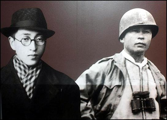 김달삼(왼쪽)과 김익렬(사진=제주평화공원)