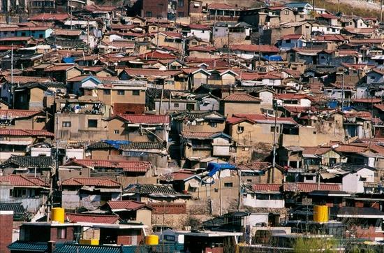 무악동 재개발 예정지구의 자료사진