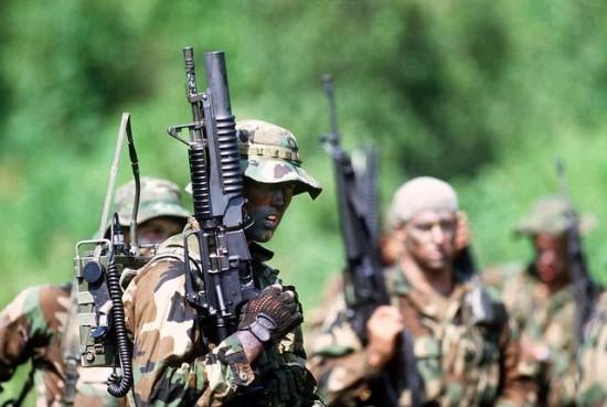 아프카니스탄에 참전한 미군의 모습