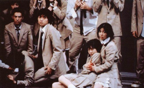 영화 '배틀 로얄'의 한 장면