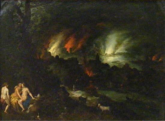 '소돔과 고모라> 얀 브뤼겔 17세기