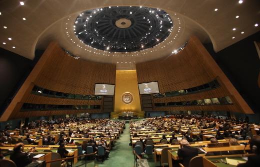 2010년 뉴욕에서 열린 NPT재검토 회의, 5년마다 개최된다