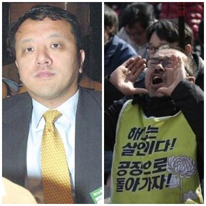 조세도피처에 유령회사를 설립한 전두환의 아들 전재국과 쌍용차 해고노동자 김정우