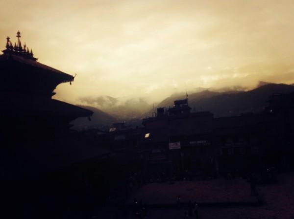 박타푸르의 새벽