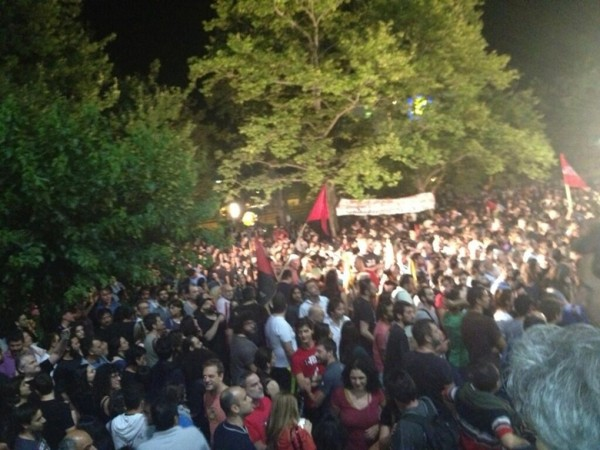 그리스방송국 폐쇄