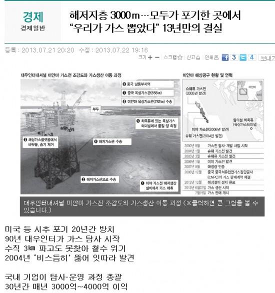 한겨레 해당 기사의 인터넷판 캡처