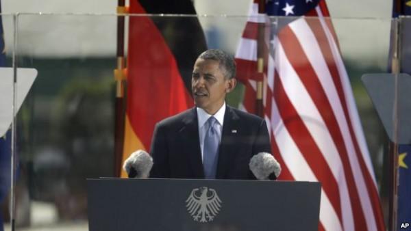 오바마 베를린