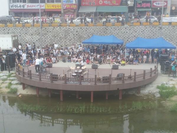 청성제 축제의 모습