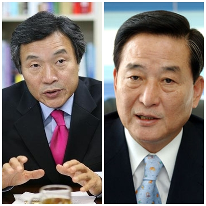 손학규 고문과 서청원 전 의원