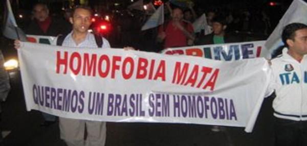 2011년 살해당한 트랜스 여성 추모와 폭력 규탄 집회 모습