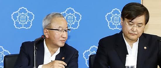 현오석 부총리와 서승환 국토부 장관