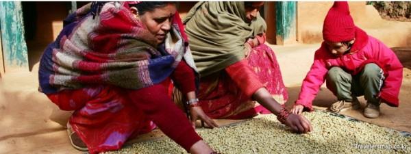 커피농부와 커피마을의 여성들
