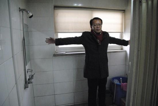 (슬라이드 5 : 삼지공영 샤워실 사진)