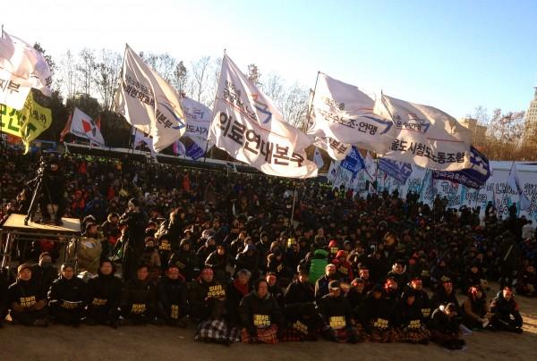 총파업 서울지역 집회(사진=장여진)