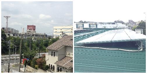 유메코프 물류센터 내 태양광 시설 및 전력생산 시설
