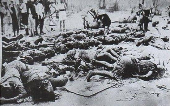 1923년 일본 관동대지진 당시 학살된 조선인들