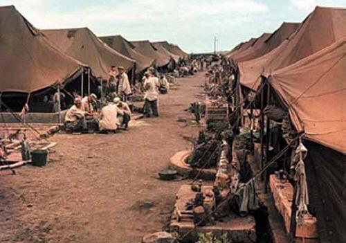 거제 포로수용소의 모습(국방부 블로그)