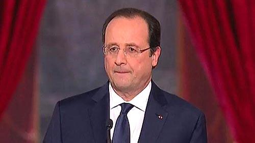사회당 출신의 올랜드 프랑스 대통령