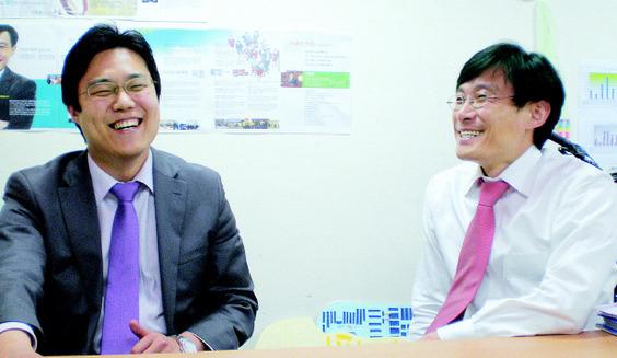 황순식 정의당 후보(왼쪽)과 서형원 녹색당 후보(사진=서형원 블로그)