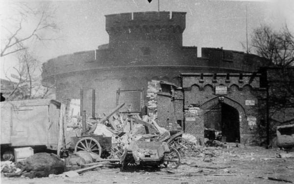 1945년의 쾨니히스베르크 요새의 모습(www.histomil.com)