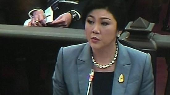 축출당한 잉락 태국 총리