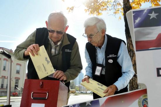 미국의 노인투표