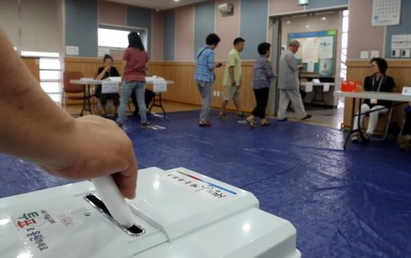 재보선 투표