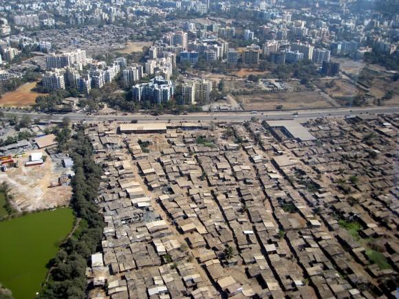 뭄바이의 빈부격차