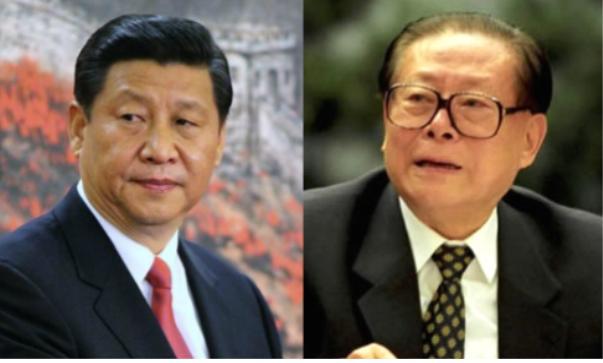 시진핑 장쩌민
