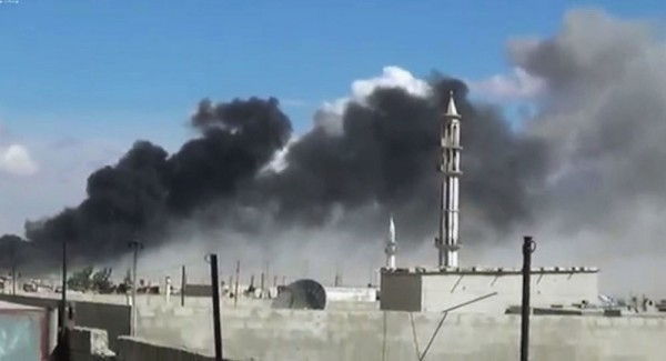 시리아 폭격