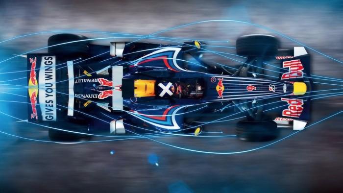 F1을 F1답게 만드는 레이스카의 공기역학