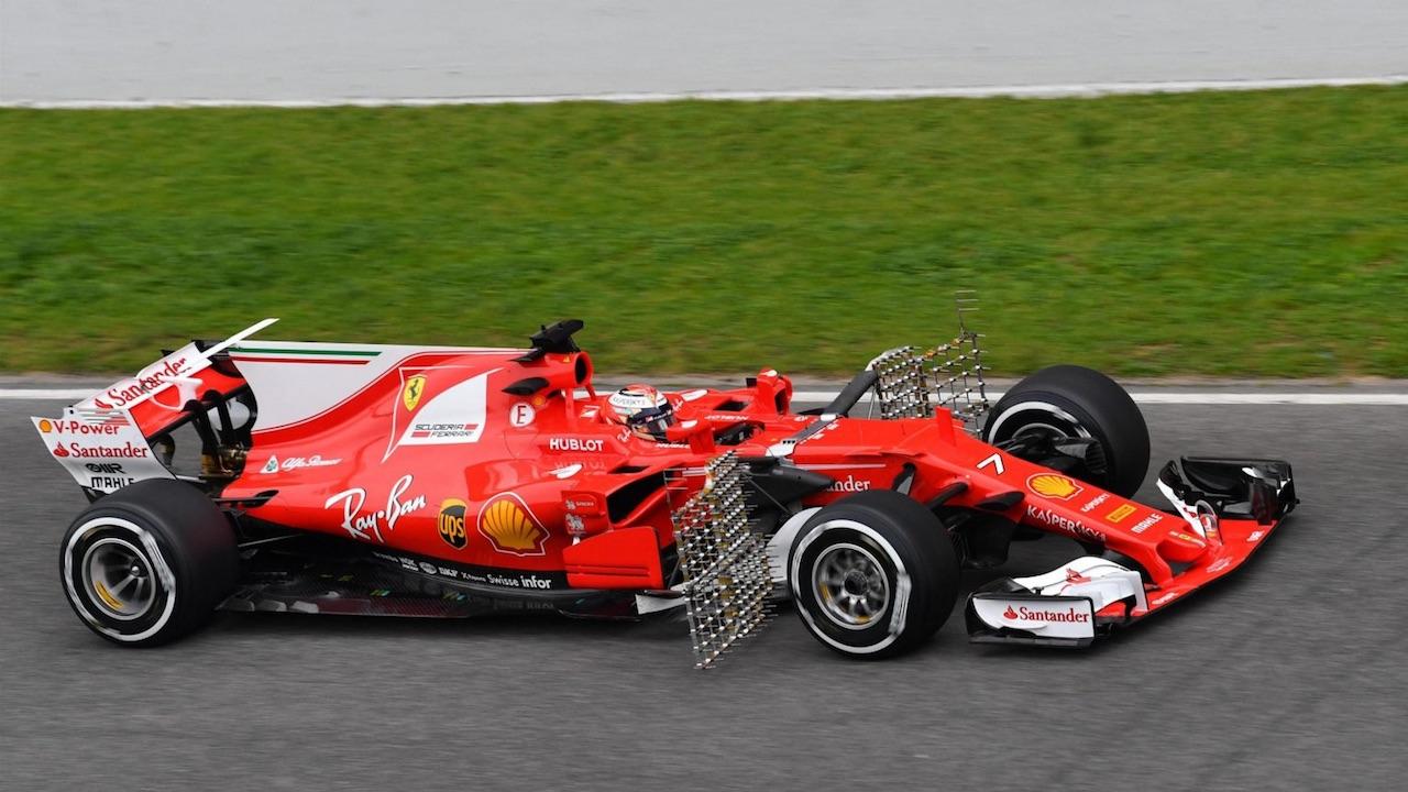 2017시즌 혁명적 변화에 대처하기 위해 다양한 실험과 테스트에 몰두하는 F1 팀